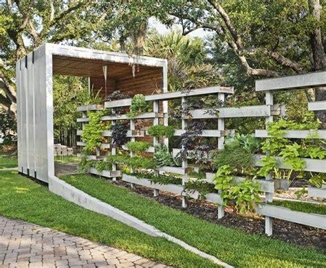 separation jardin 95 id 233 es pour la cl 244 ture de jardin palissade mur et brise vue