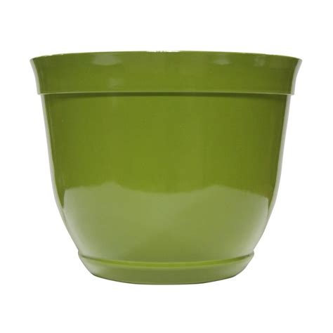 Plastic Planter Bowls by Alpine 10 In Small Light Green Bowl Plastic Planter