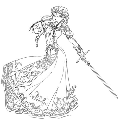 Warrior Princess Lineart By Fairy Red Hime On Deviantart Warrior Princess Coloring Pages Free Coloring Pages