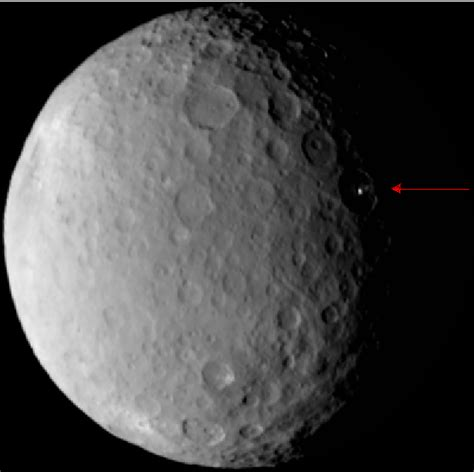 Ceres Lights by Dredd Mission Nears Ceres Orbit Maneuvers