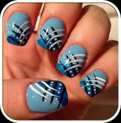 gallery for gt navy blue nail art