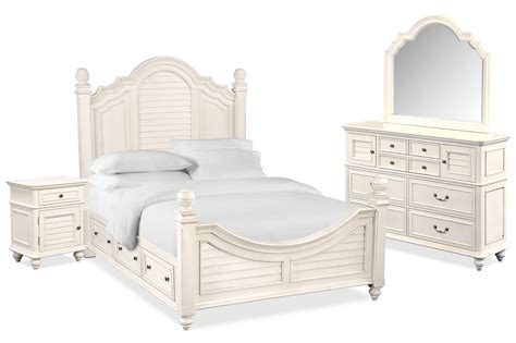 queen bedroom sets with underbed storage charleston 6 piece queen poster bedroom set with 4