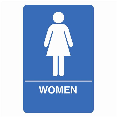 Womans Bathroom by Restroom Sign Free Clip Free Clip