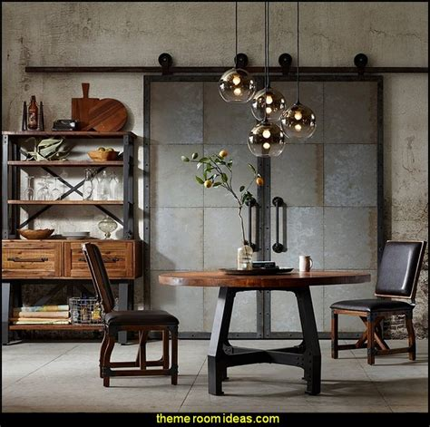 industrial chic home decor decorating theme bedrooms maries manor industrial style