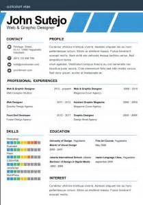 1 Page Resume Exles by One Page Resume Template
