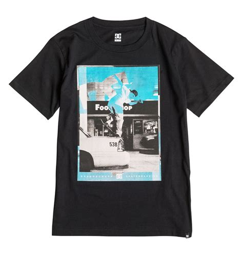 Tshirts Dc 1 boy s 8 16 kaliscab edbzt03150 dc shoes