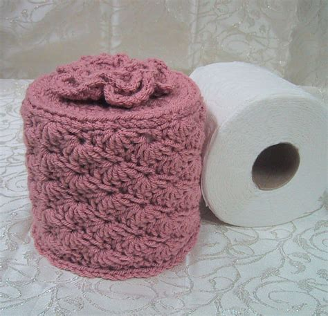 decorative single toilet paper cover cover your spare toilet paper cover w flower on top tp