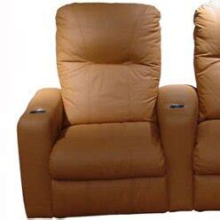 omnia leather portland home theater seating row