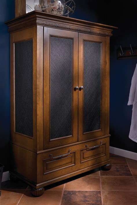 Big Armoire by Lakeshore Drive Armoire Wood Mode Custom Cabinetry
