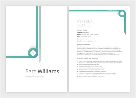 matching cover letter and resume templates 8 new resume templates with matching cover letters