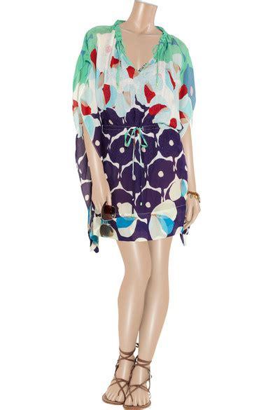 Dress Zaila diane furstenberg zaila printed silk blend voile
