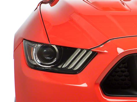 mustang hid lights ford mustang factory replacement hid headlight pair fr3z