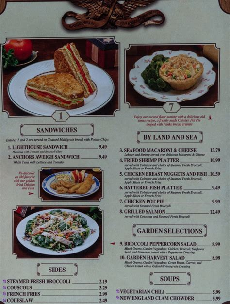 columbia harbor house menu columbia harbour house magic kingdom review and menu easywdw
