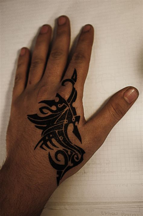 hand tattoo tribal 30 creative designs collections
