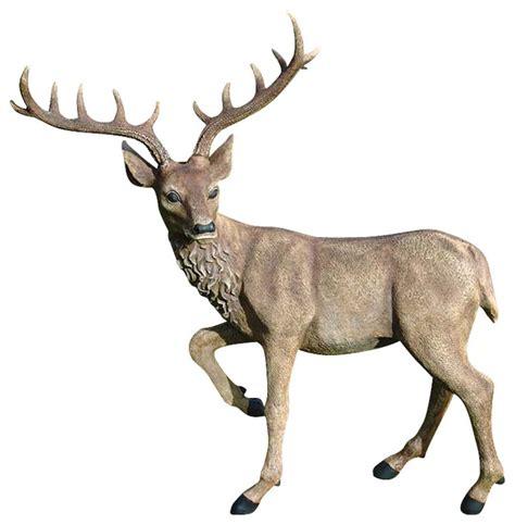 black forest garden deer rustic garden statues and