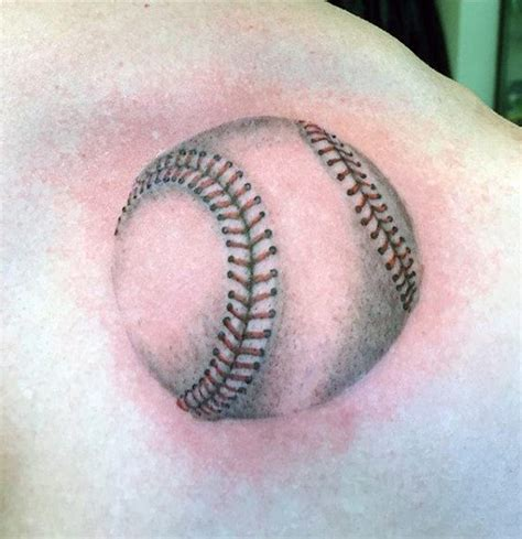 40 baseball tattoos for men a grand slam of manly ideas
