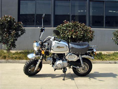 Motorrad Dax 125 by Skyteam St 50 8a 50ccm Bongo Chrome Edition Skyteam