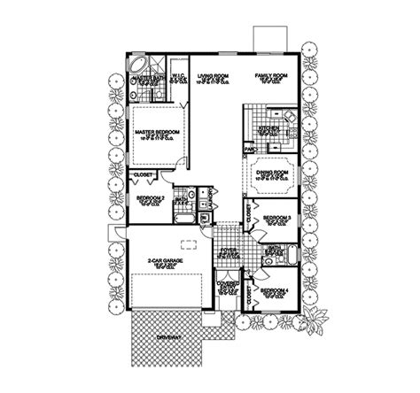 southwestern floor plans sandoway southwestern home plan 106d 0020 house plans