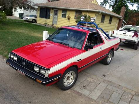 subaru brat turbo for sale pnw special 1990 subaru loyale 4wd turbo wagon plus