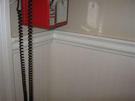 wallpaper chair rail we used beadboard wallpaper below the existing chair rail