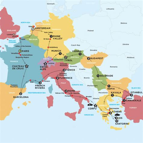 ultimate european islands contiki or