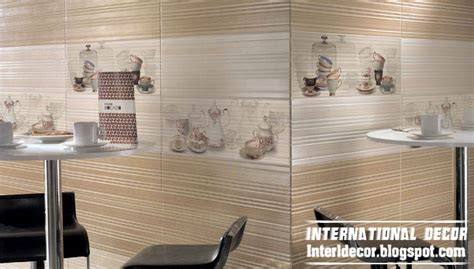 Tile Designs For Kitchen Walls Contemporary Kitchens Wall Ceramic Tiles Designs Colors Styles