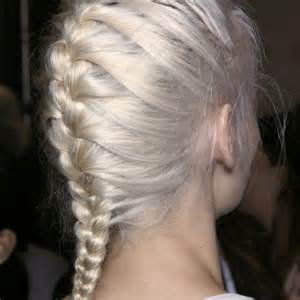 look at hair styles with your wn here s how to braid your own hair stylecaster