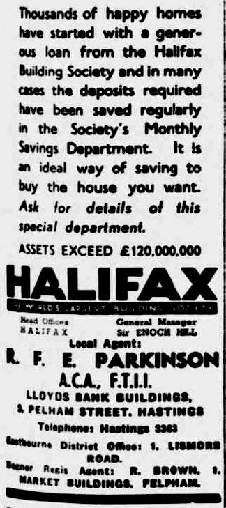 halifax bank hastings air raid bomb shelters ww2 second world war two