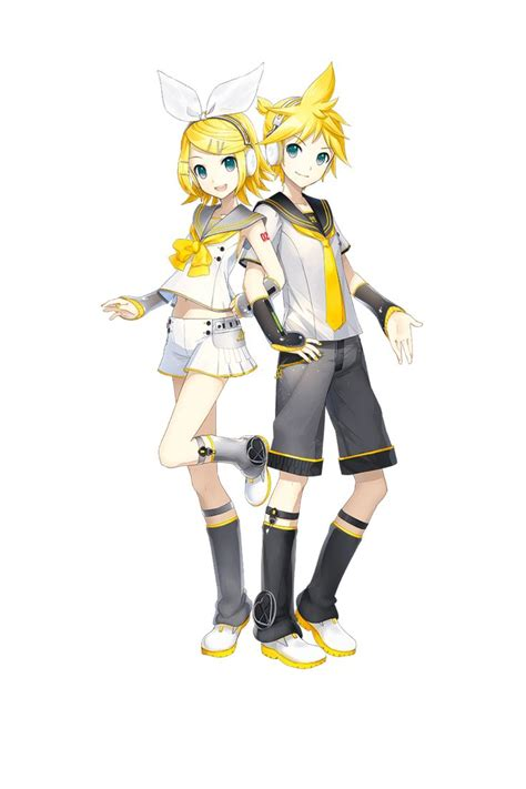kagamine rin and len v4x design they look absolutely - Designer Len