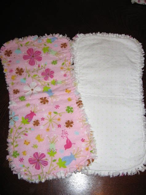 Make Handmade Burp Cloths - burp cloth tutorial sewing patterns and new babies