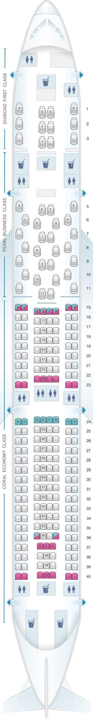 iberia airbus a340 500 seat map mapa de asientos etihad airways airbus a340 500 plano