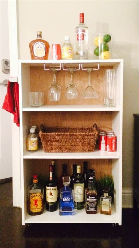 best 25 diy bar cart ideas on