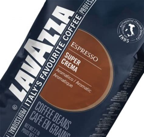 Lavazza Super Crema Arabica Coffee Beans 1kg Bag