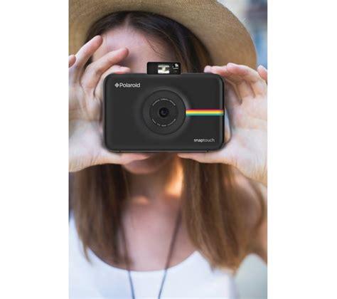 buy polaroid instant buy polaroid snap touch digital instant black