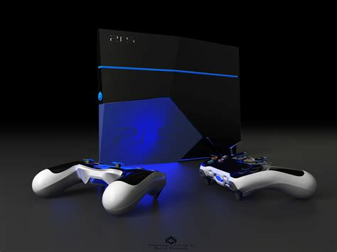 play station probably the playstation 5 concept is here
