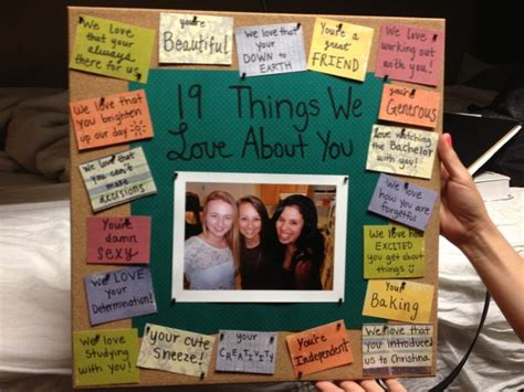 17 best ideas about friend birthday gifts on