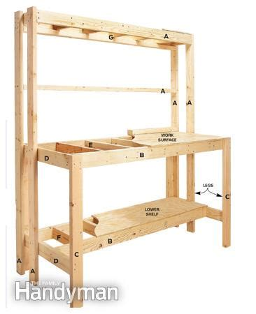 how to build a simple work bench how to build a workbench super simple 50 bench the