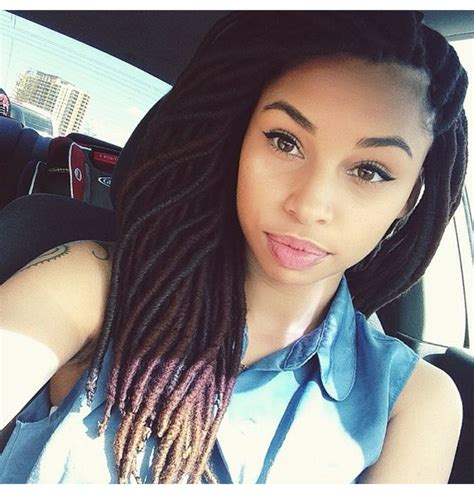 artificial dreadlock hairstyles one of the hottest and even sexiest trends going on right