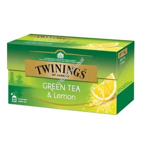 Twinings Green Tea Lemon Mint 1 Green Tea Lemon 25 Tea Bags Twinings