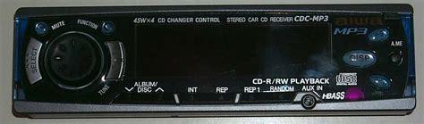 aiwa aiwa mp general use aiwa cdc mp3 car mp3 cd player