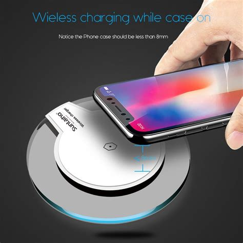 wireless charger  samsung   iphone marostorz