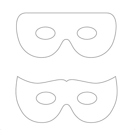 mask template pdf mask template 7 documents in psd