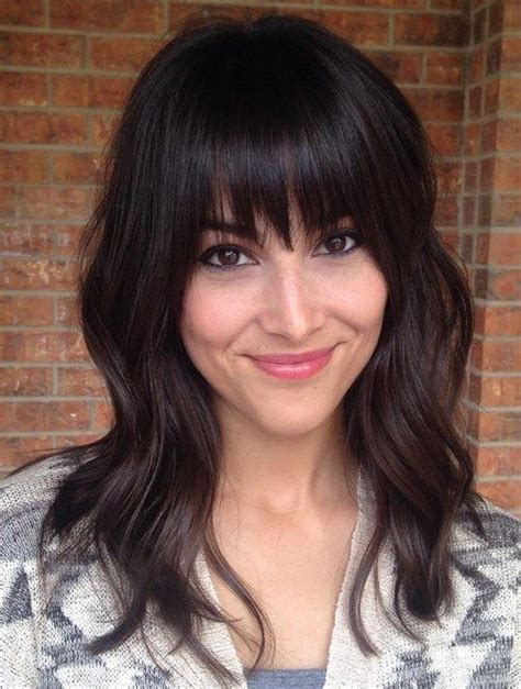 cute haircuts for straight hair with bangs 80 cute layered hairstyles and cuts for long hair