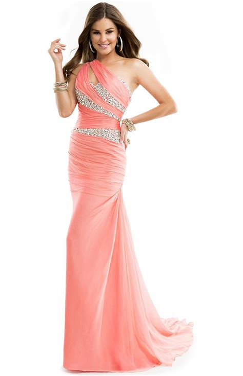 Sequin Sleeve Avail In 3 Colours Place 08 flirt prom 2014 dress style p4717 sequin gown with asymmetrical neckline single sleeve front