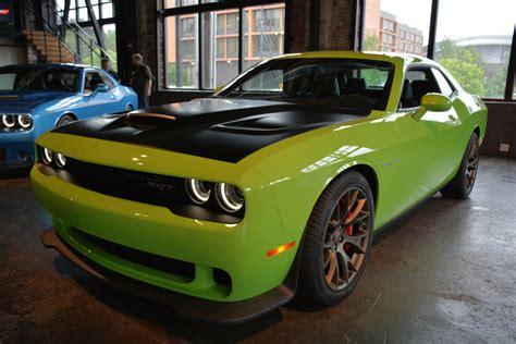 green dodge challenger challenger hellcat green autos post