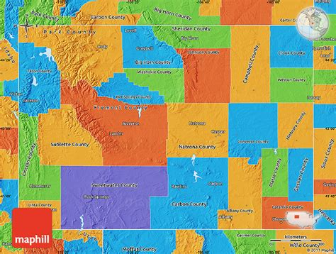 political map of wyoming wyoming political map swimnova