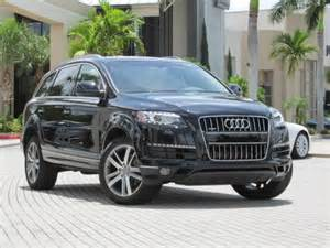 Audi Q7s For Sale 2011 Audi Q7 For Sale 183 Myjoymarket Free Classifieds
