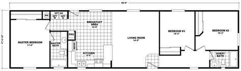 2 bedroom 14 x 70 mobile homes floor plans floor plans avondale 18 x 68 1181 sqft mobile home factory select homes