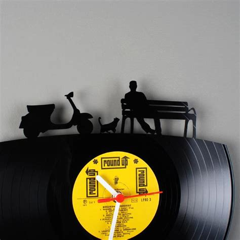 vinyl record room decor interior decoration tips articles decorating ideas with vinyl record clocks