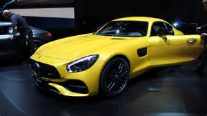 mercedes new sports car mercedes amg turns up the heat on family of gt sports cars